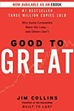 Good to Great by [Jim Collins]